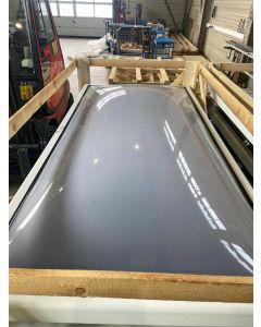Lichtkuppel / Dunkelklappe  120 x 240cm  2-schalig  Sonderangebot