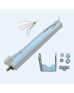 E-Motor - 300 mm Hub - (Weiß) - Mingardi D8 Fce mit Signalkontakt