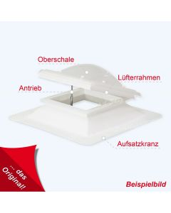 Lichtkuppel quadratisch 60 X 60 cm Typ - Köln