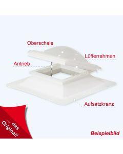 Treppenhaus RWA - Set + Lichtkuppel  120 X 120 cm 1,0m² Entrauchung