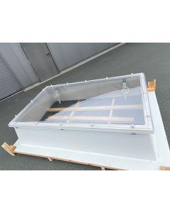 Lichtkuppel Set Polycarbonat 150 x 250cm 4-schalig - SONDERANGEBOT