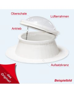 Lichtkuppel rund 110 cm Typ - Leverkusen
